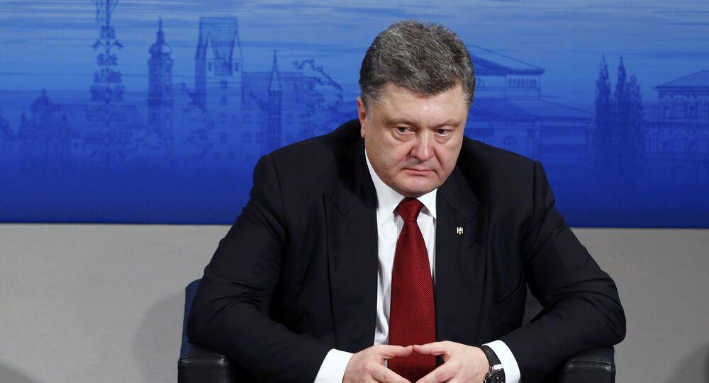 Pyotr Poroshenko, presidente da Ucrânia, eleito em 25 de maio de 2014
