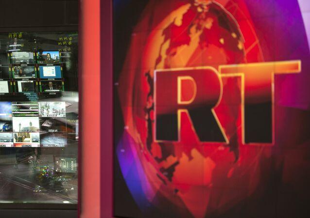 Logo do canal RT