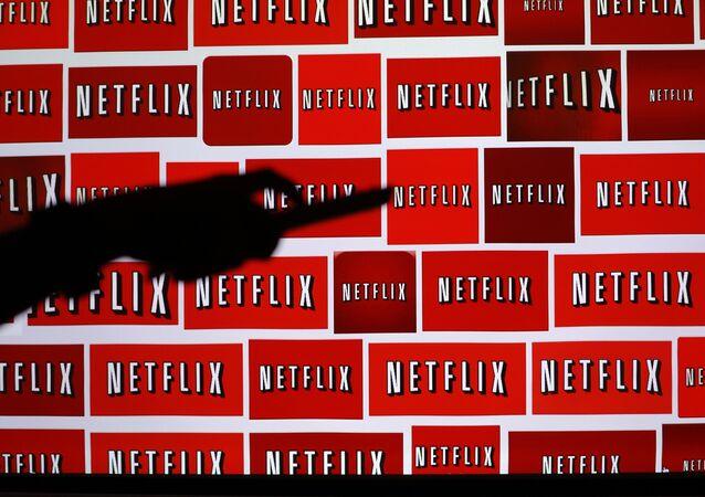 Logomarca do Netflix