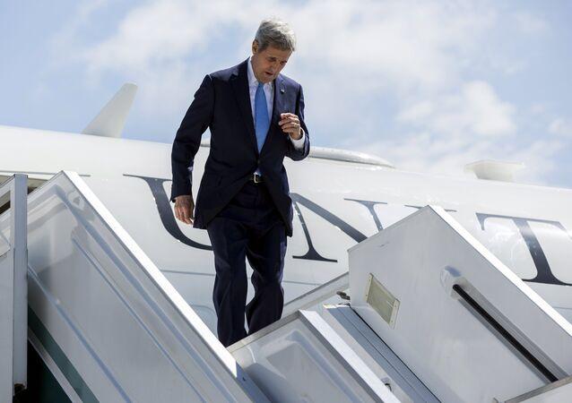 John Kerry, secretário de Estado americano (EUA)