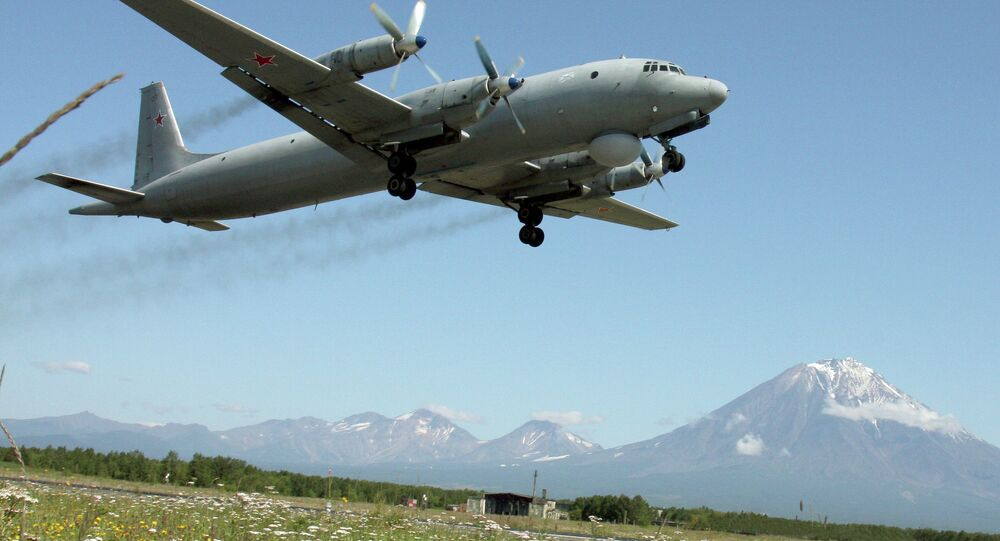 Avião Il-38 da esquadra russa do Pacífico