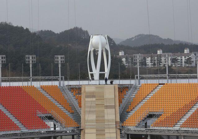 Estádio Olímpico de PyeongChang, palco dos Jogos de Inverno de 2018