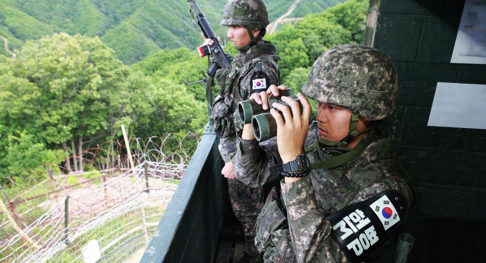 Soldados sul-coreanos
