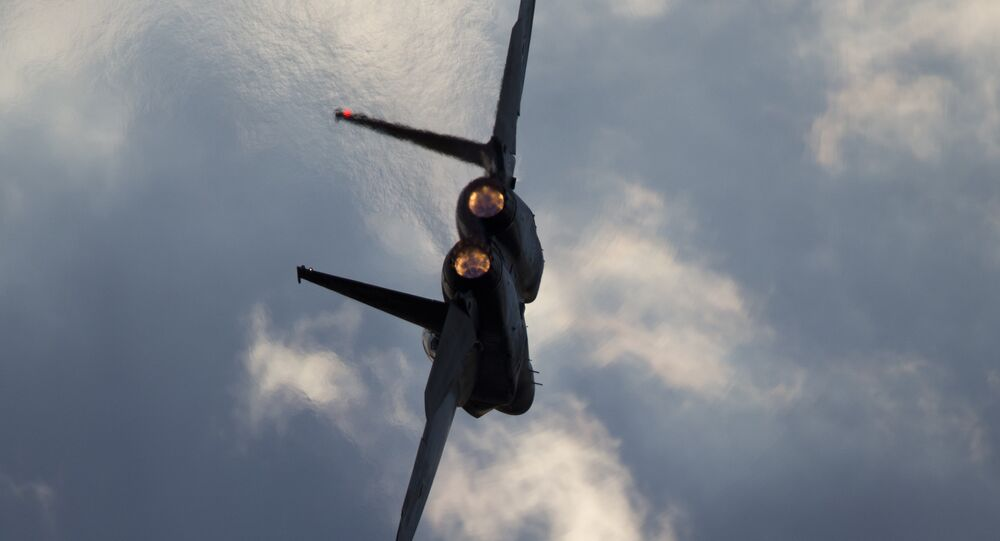Caça F-15 da Força Aérea Israelense (arquivo)
