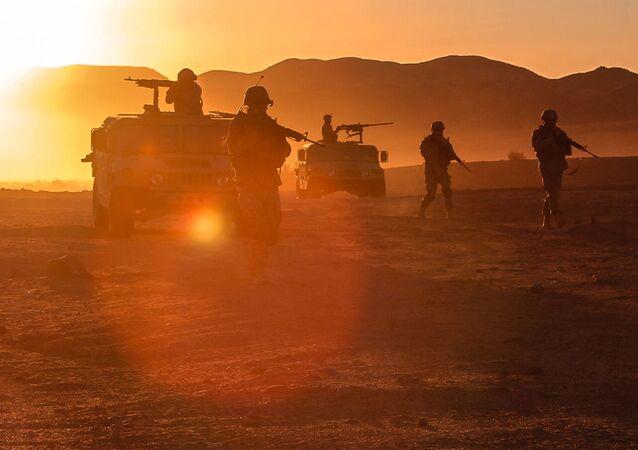 Militares norte-americanos no Afeganistão