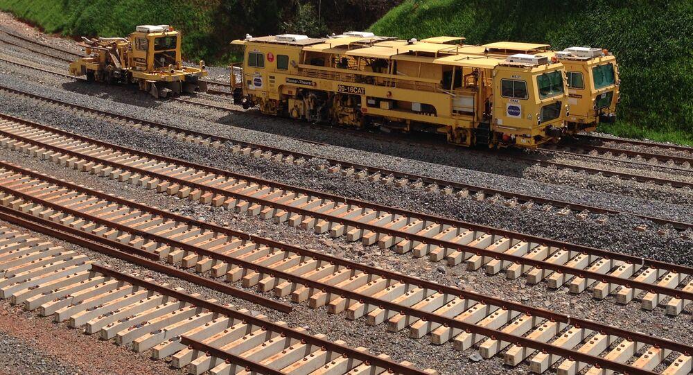 Construção da Ferrovia Norte-Sul, subtrecho Palmas (TO) – Anápolis (GO)