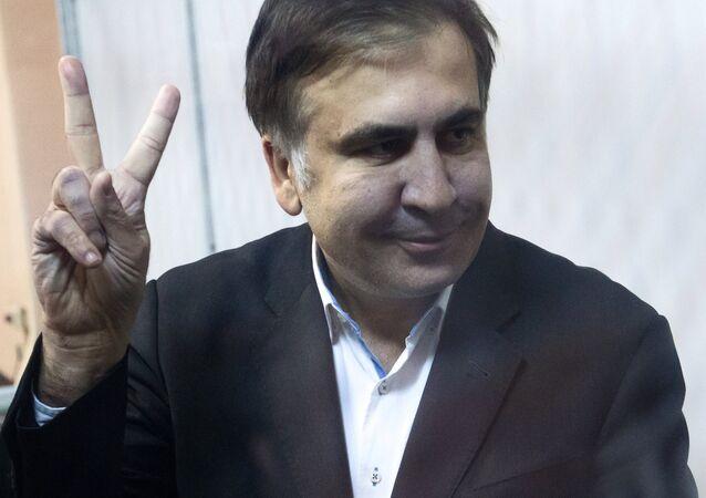 Ex-governador da região de Odessa e ex-presidente da Geórgia, Mikhail Saakashvili