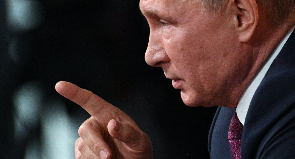 Coletiva de imprensa anual de Vladimir Putin, 14 de dezembro de 2017