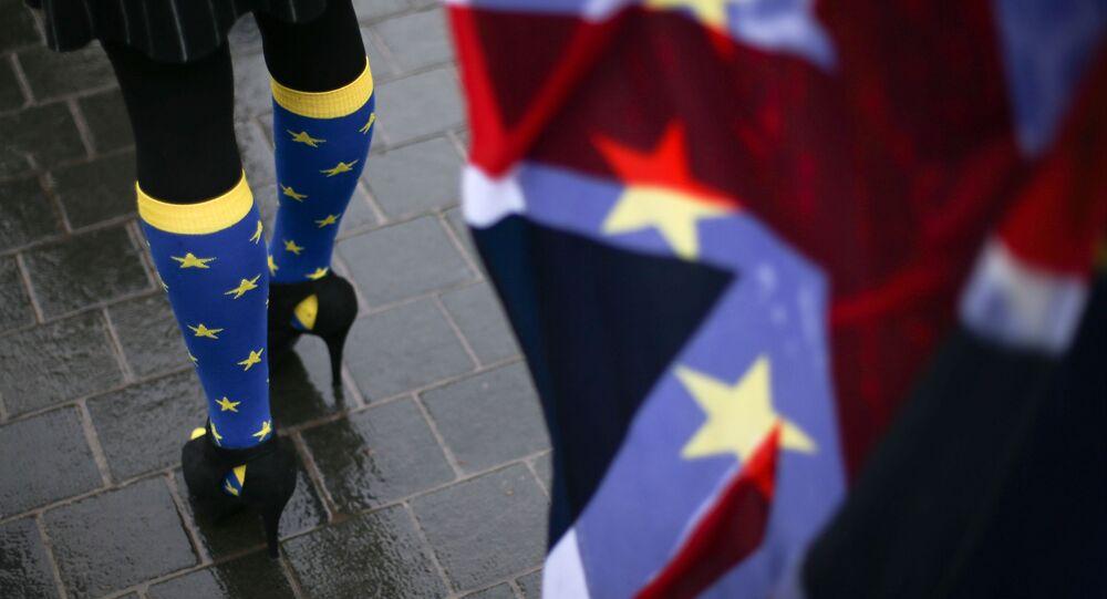 Protestos anti-Brexit em Londres