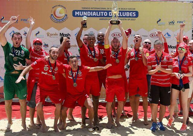 Lokomotiv Moscou faturou o bicampeonato no Mundialito de Clubes de Futebol de Areia