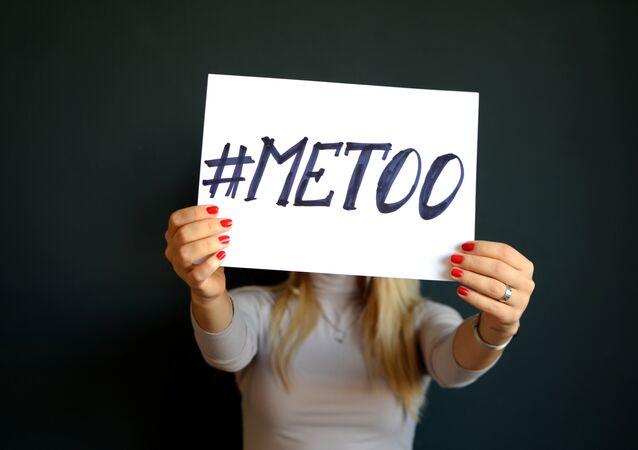 Mensagem contra abuso sexual na Suécia #MeToo
