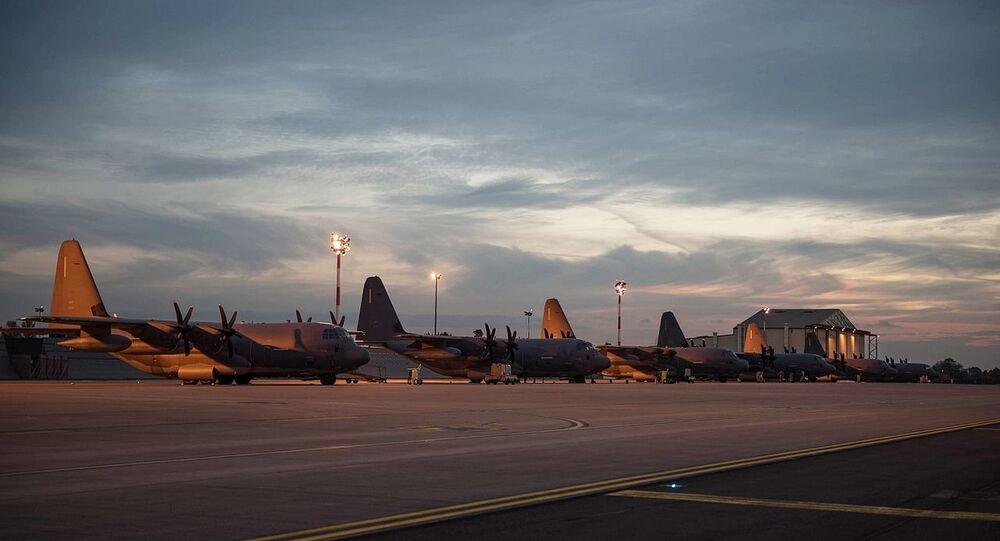 Base aérea dos EUA, Mildenhall (imagem referencial)