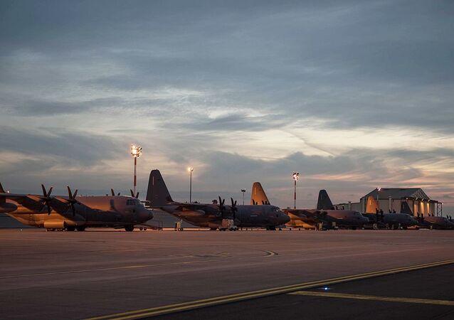 Base aérea dos EUA, Mildenhall (foto de arquivo)