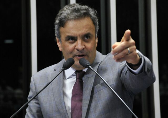 Senador  Aécio Neves, do PSDB de Minas Gerais