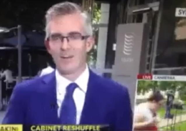 Mulher se teletransporta de Sidney para Canberra durante transmissão ao vivo