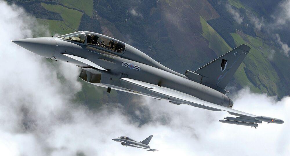Caça Eurofighter Typhoon