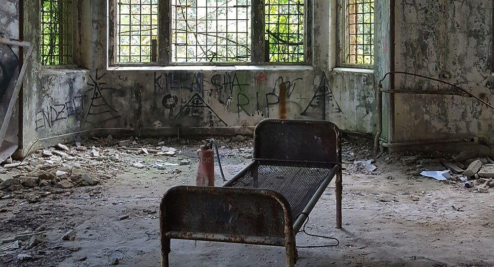 Um hospital abandonado (imagem ilustrativa)