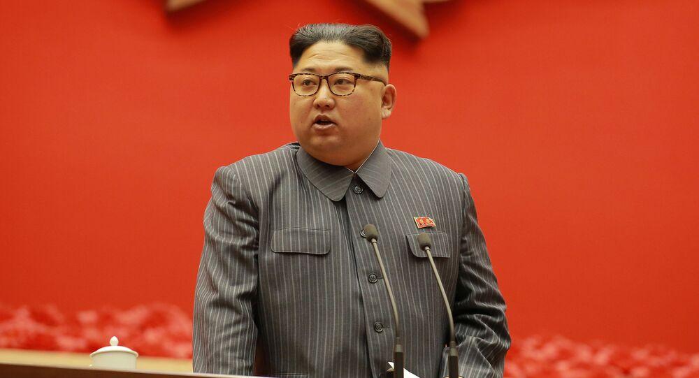 Líder norte-americano Kim Jong-un