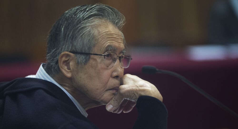 Alberto Fujimori, ex-presidente do Peru.