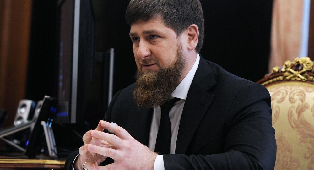 Líder checheno, Ramzan Kadyrov, foto de arquivo