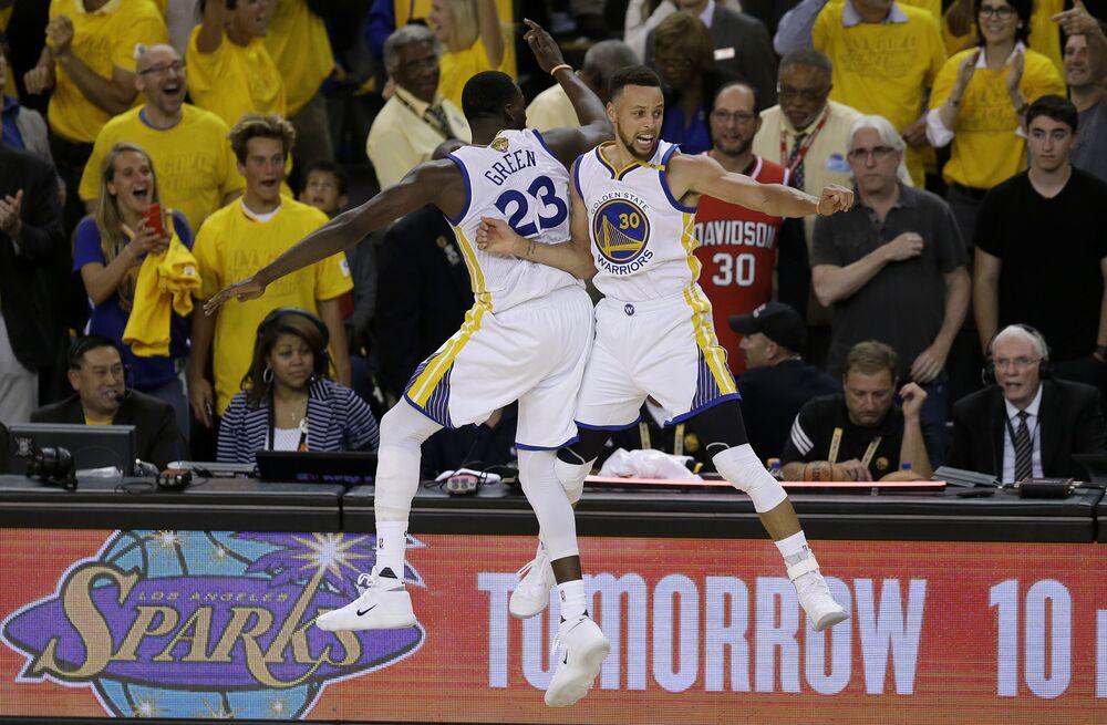 O Golden State Warriors venceu a NBA.