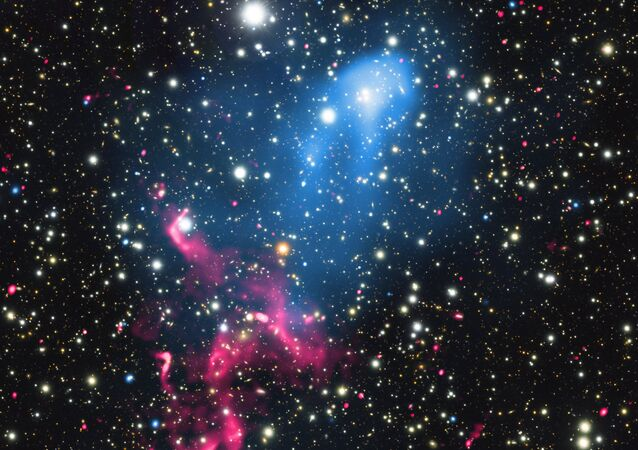 Galáxias Abell 3411 e Abell 3412