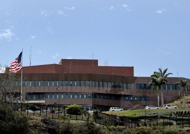 Embaixada dos Estados Unidos na Venezuela, em 10 de março de 2015