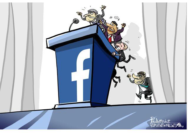 Facebook está sempre on-line para políticos interessados em gastar