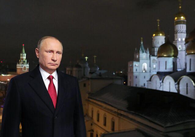 Mensagem de Ano Novo de Vladimir Putin