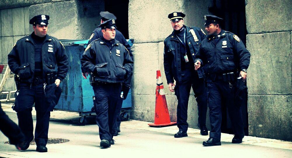 Polícia estadunidense em Nova York