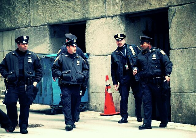 Agentes de polícia de Nova York, nos Estados Unidos (arquivo)
