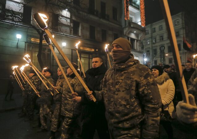 Nationalist March in Kiev