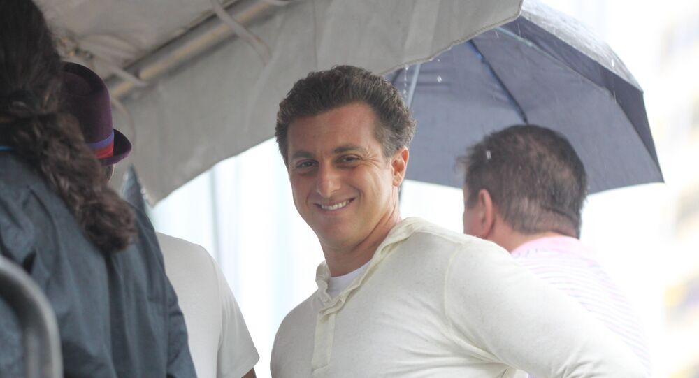 Luciano Huck no Brazilian Day in Miami (foto de arquivo)