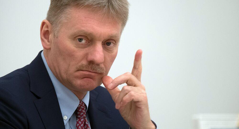 Porta-voz do presidente russo Vladimir Putin, Dmitry Peskov