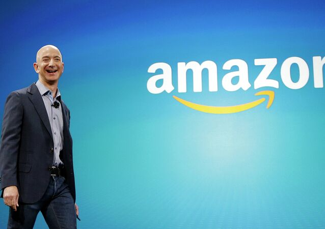 Jeff Bezos, fundador e presidente da Amazon.