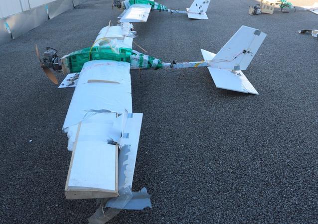 Drones que atacaram bases russas na Síria