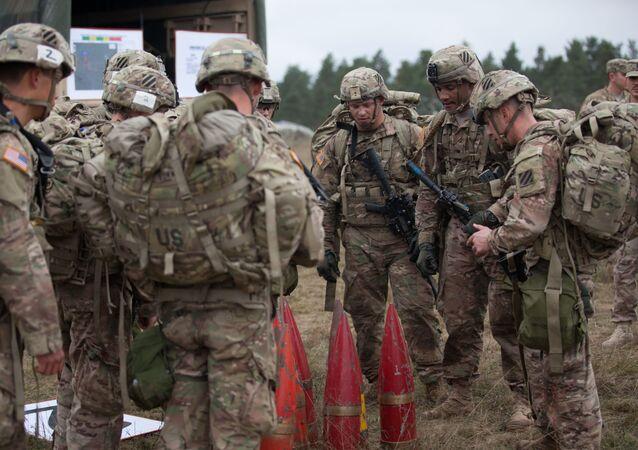 Soldados norte-americanos (foto de arquivo)
