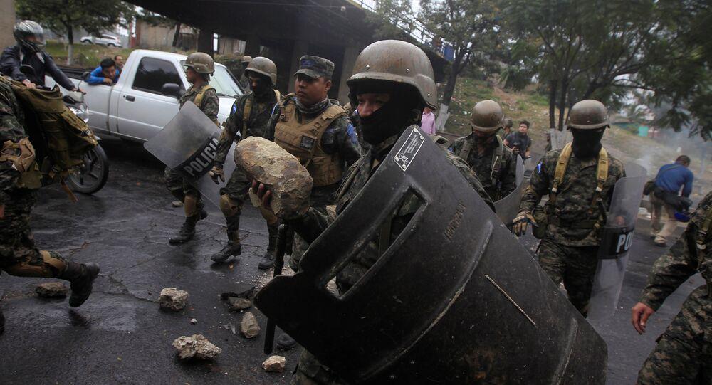 Violência em Honduras