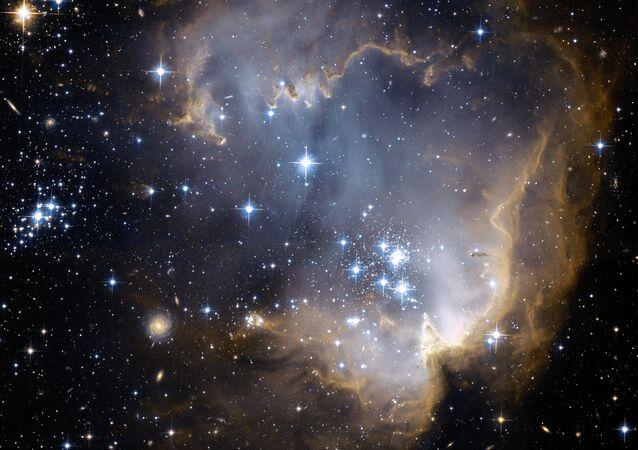 Uma galáxia (imagem ilustrativa)