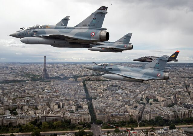 Aviões de assalto Mirage 2000