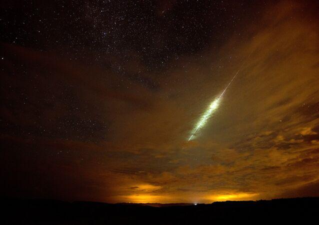 Um meteoro