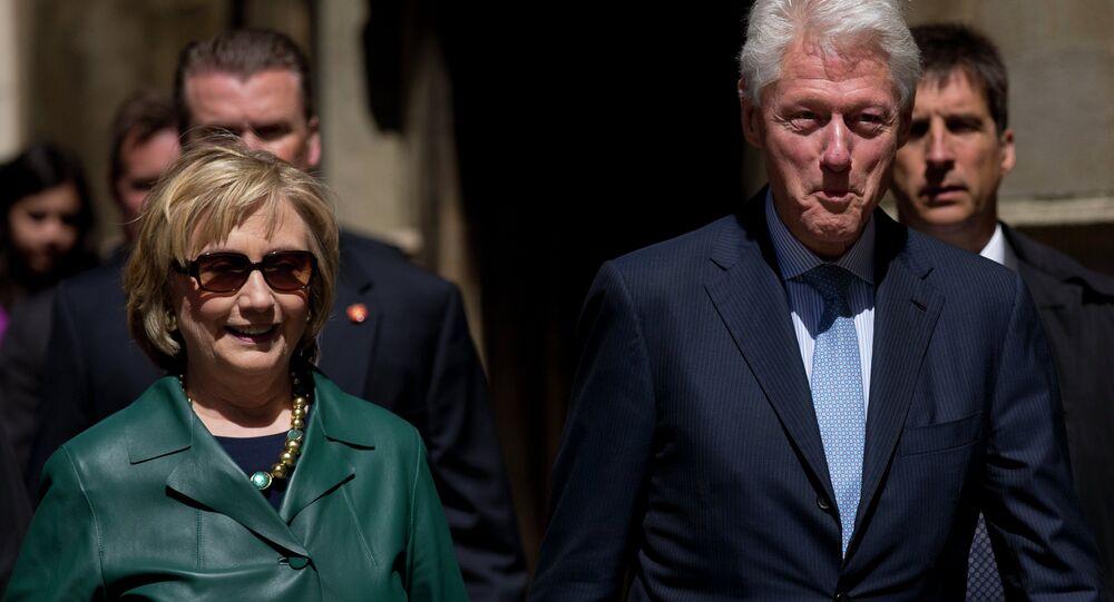 Hillary e Bill Clinton