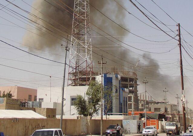 Ramadi sob ataque do Estado Islâmico em 15 de maio de 2015