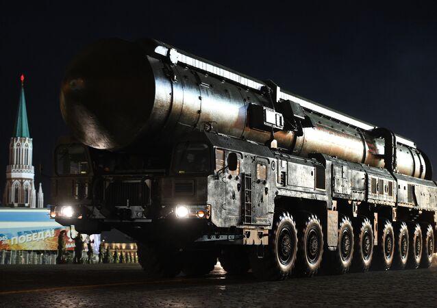 Míssil balístico intercontinental russo Yars