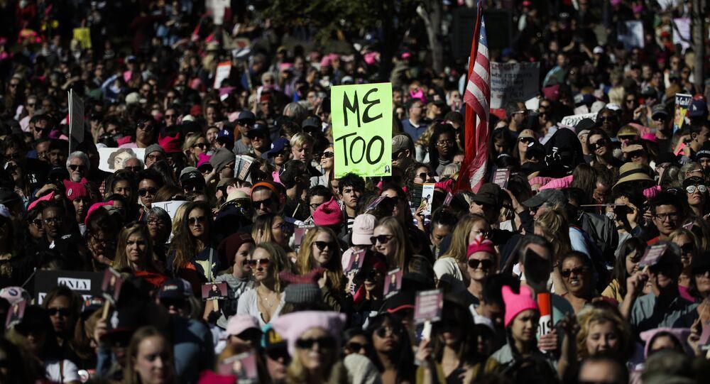 Marcha das Mulheres 2018 em Los Angeles.