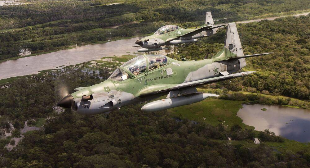 Embraer EMB-314 Super Tucano, foto de arquivo