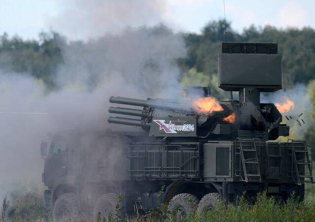 Sistema antiaéreo russo Pantsir-S1