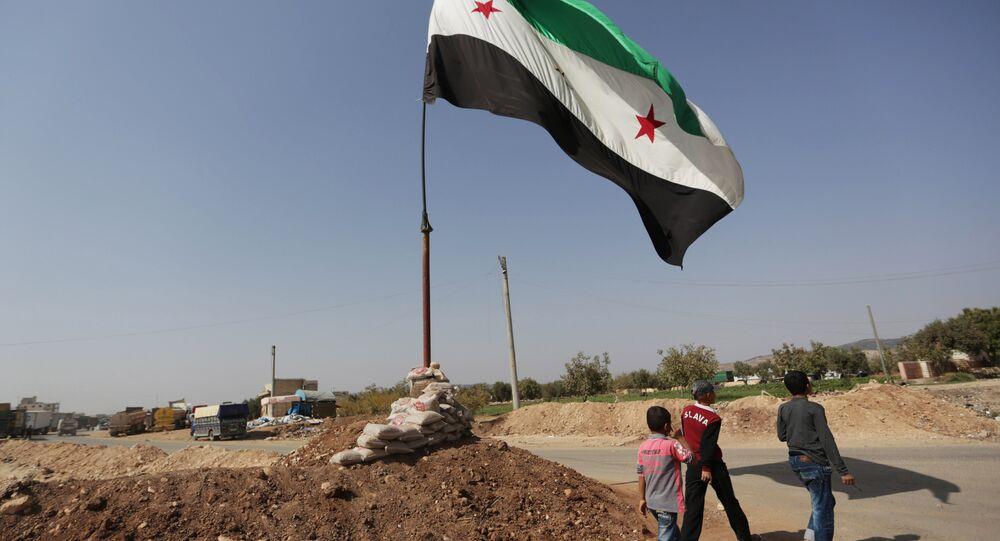 Cidade síria de Azaz, província de Aleppo (arquivo)