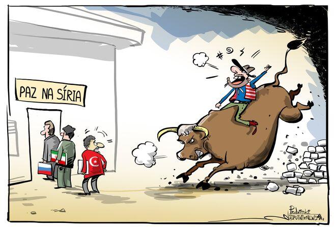Se for para provocar, vaqueiro dos EUA está pronto