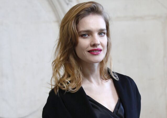 Russia model Natalia Vodianova